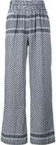 Cecilie Copenhagen - Keffiyeh Cotton Trousers - women - Cotton - 2