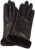 UGG Classic leather touch screen glove