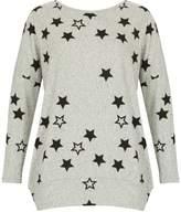 Izabel London Star Print Knit Top