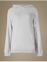 M&S Collection Hooded Long Sleeve Pyjama Top