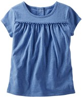 Osh Kosh Toddler Girl Pom-Pom Tee
