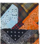 Pierre Louis Mascia Pierre-Louis Mascia patchwork scarf