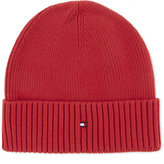 Tommy Hilfiger Ribbed Cotton-cashmere Beanie