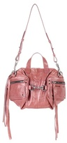 McQ by Alexander McQueen Mini Convertible Hold-all leather tote