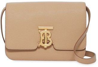 Burberry Small Grainy Leather TB Bag