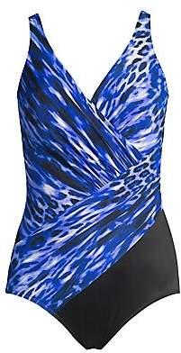Swim Swim Women`s Lynx Lazuli Oceanus One-Piece Swimsuit