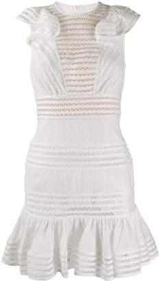 Zimmermann embroidered fitted dress