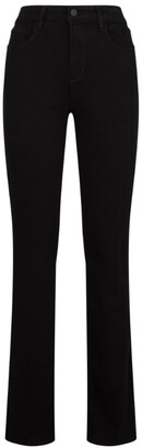 L'Agence High-Rise Oriana Straight Jeans