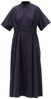 Max Mara Alea Shirt Dress - Womens - Navy