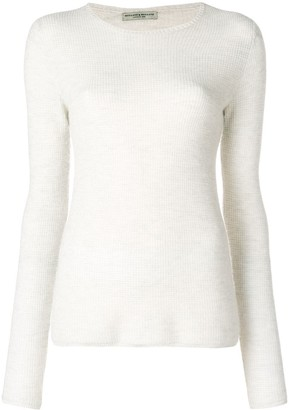 Holland & Holland Long-Sleeve Fitted Sweater