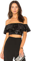 Jay Godfrey Brown Top in Black. - size 0 (also in 00,2,4,6,8)