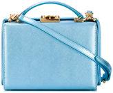 Mark Cross high shine crossbody bag - women - Calf Leather - One Size