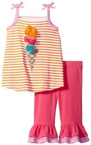 Mud Pie Popsicle Tank Top Shorts Set Girl's Active Sets