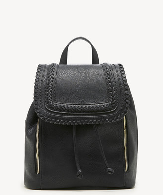 Sole Society Women's Destin Backpack Vegan Leather New Black One Size From