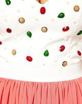 Rare Embellished Top Prom Dress