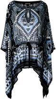 Roberto Cavalli printed batwing tunic
