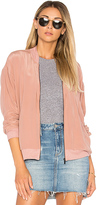 Feel The Piece Baxter Bomber in Rose. - size M-L (also in )