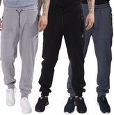 Kangol Mens Cuffed Ribbed Jogger with elasticated waistband tracksuit bottoms