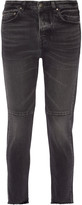 Golden Goose Deluxe Brand Happy cropped mid-rise straight-leg jeans