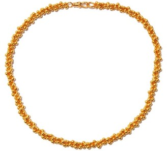 Alighieri Popcorn 24kt Gold-plated Choker Necklace - Yellow Gold