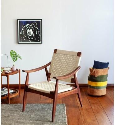 "Thumbnail for your product : Masaya & Co Izapa 28"" Wide Armchair"