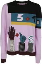 Valentino Knitted Intarsia Jumper