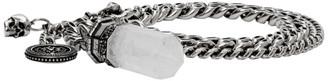 Alexander McQueen Silver Small Quartz Bracelet