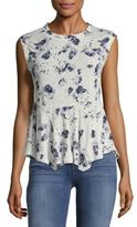 Rebecca Taylor Meteor Floral Tee