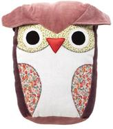 Stuffed Pink Owl Pillow
