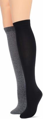Hue Women's Knee Sock 2 Pair Pack