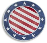 Sur La Table Stars and Stripes Dinner Plate