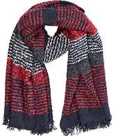 Oasis Boucle Textured Scarf, Multi