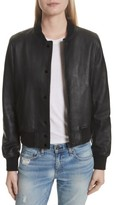 Rag & Bone Women's Cooper Leather Varsity Jacket