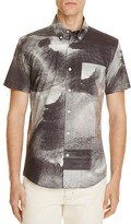 Saturdays Nyc Esquina Process Print Slim Fit Button-Down Shirt