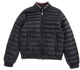 Moncler Toddler Garin Water Resistant Down Moto Jacket
