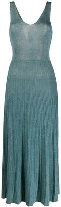 Roberto Collina Pleated Midi Dress