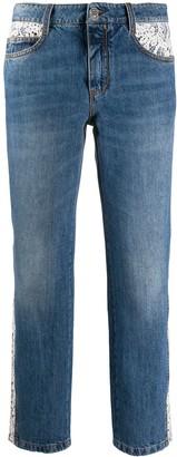 Ermanno Scervino Slim Boyfriend Jeans