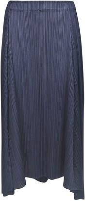 Pleats Please Issey Miyake Sliced Skirt