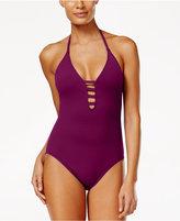 LaBlanca La Blanca Strappy Plunge One-Piece Swimsuit