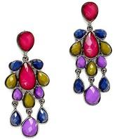 Pink Mascara Camille Beaded Earrings
