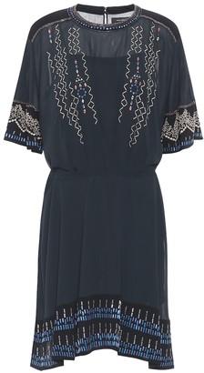 Isabel Marant Camelia silk-crepe dress
