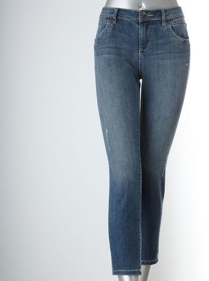 Vera Wang Simply vera skinny ankle jeans