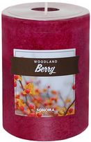 """SONOMA Goods for LifeTM 4"""" x 3"""" Woodland Berry Pillar Candle"""