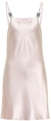 Alyx Disco satin minidress