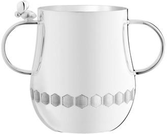 Christofle Beebee 2-Handle Silverplate Baby Cup
