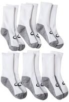 Champion Boys' 6-Pack Crew Socks