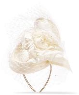 Philip Treacy Crystal-embellished Veiled Headpiece