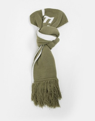 Parlez Carlton logo scarf in green