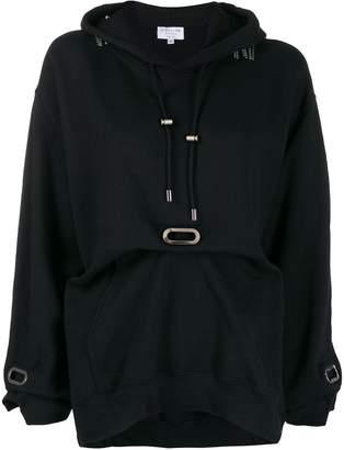 Collina Strada earring chain hoodie