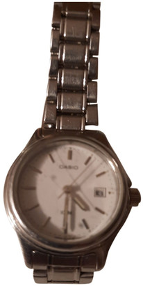 Casio Metallic Steel Watches